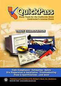 QuickPass Study Guide for the General Engineering (A) License Examination - CD-ROM. Inc Builders Book.