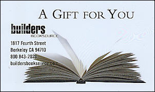 Gift Certificate: One Hundred Dollars. Builders Booksource.