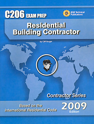 Residential Building Contractor Study Guide & Practice Questions Workbook