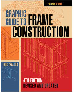 Graphic Guide To Frame Construction: Fourth Edition, Revised & Updated. Rob Thallon.