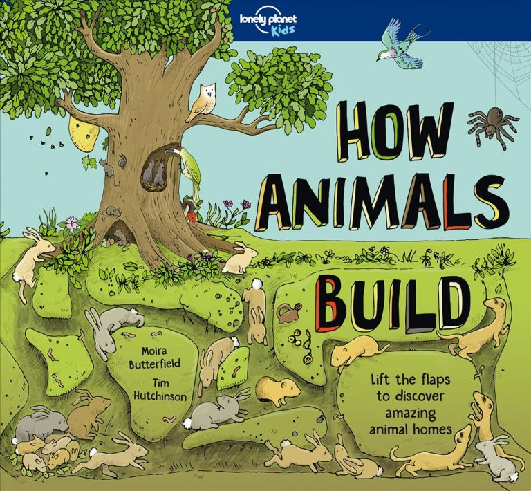 How Animals Build. Moira Butterfield, Tim Hutchinson.