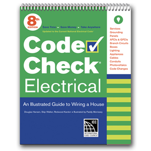 Code Check Electrical / 8th edition (for 2017 NEC). Douglas Hansen Redwood Kardon, and