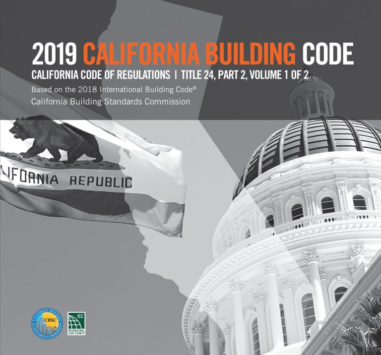 2019 California Building Code, Title 24 Part 2 (2 Volume Set). CBSC-ICC 5520L19.
