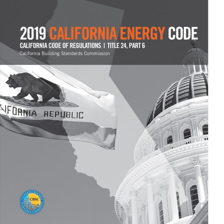 2019 California Energy Code, Title 24, Part 6 (CEEC). CBSC - ICC 5560L19.