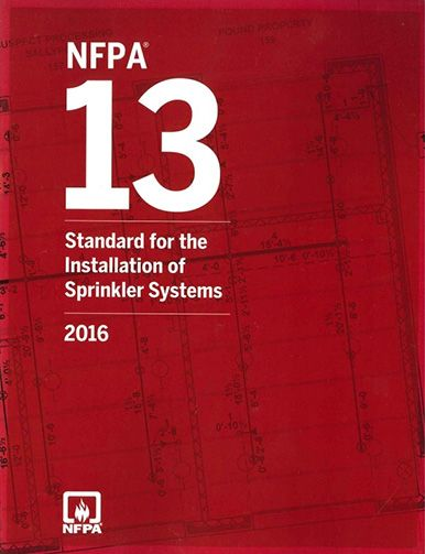 NFPA 13: Automatic Sprinkler Systems 2016. National Fire Protection Association, NFPA.