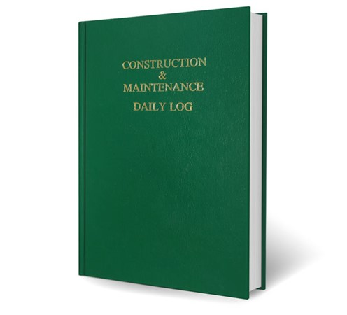 Construction & Maintenance Daily Log. Safety Meeting Outlines.