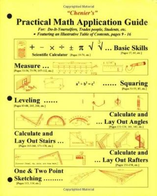 Chenier's Practical Math Application Guide. Norman J. Chenier