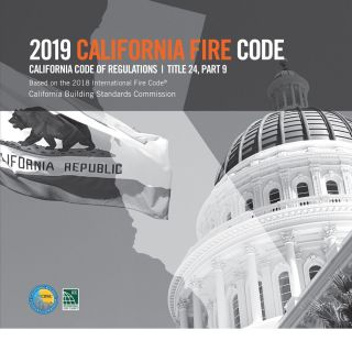 2019 California Fire Code, Title 24 Part 9 (CFC). CBSC - ICC 5590L19