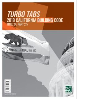 Turbo Tabs: 2019 California Building Code. ICC / 0001TL19CA