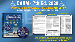 CARM: California Accessibility Reference Manual, 2020